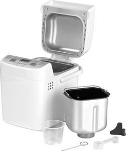 Kenyérsütőgép Időzítő funkció GourmetMaxx 01383 Fehér GourmetMaxx
