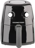 GourmetMaxx 07026 Forrólevegős fritőz Fekete, Ezüst GourmetMaxx