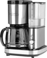 GourmetMaxx Barista Kávéfőző Nemesacél, Fekete Kapacitás, csésze=10 Darálóval GourmetMaxx
