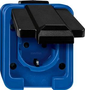 Merten Komplett Védőérintkezős dugalj Kék 279075 Merten