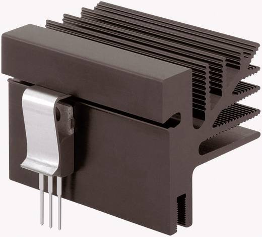 Hűtőborda 3,25 K/W 100 x 33 x 35 mm TO-218 TO-220 TO-3P TO-247 TO-248, Fischer Elektronik SK 482 100 SA + 4x THFU 2