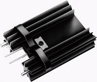 Hűtőborda 14 K/W 34,9 x 25,4 x 12,7 mm TO-220, Fischer Elektronik SK 104 25,4 STC-220 + THF 104 (10093378) Fischer Elektronik