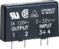 Crydom Félvezető relé 1 db MP240D4 Terhelési áram (max.): 4 A Kapcsolási feszültség (max.): 280 V/AC Nullfeszültség kapc (MP240D4) Crydom