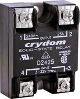 Crydom Félvezető relé 1 db A2425 Terhelési áram (max.): 25 A Kapcsolási feszültség (max.): 280 V/AC Nullfeszültség kapcs (A2425) Crydom
