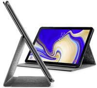 Cellularline BookCase iPad tok/táska Samsung Galaxy Tab S4 Fekete Cellularline