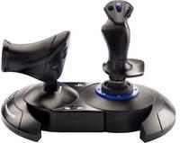 Thrustmaster T.Flight Hotas 4 Repülésszimulátor joystick USB PlayStation 4, PC Fekete, Kék Thrustmaster
