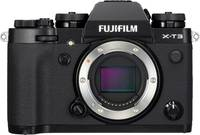 Fujifilm X-T3 Schwarz Body Digitális kamera 26.1 MPix Fekete 4k videó, Fröccsenő víz ellen védett, Porvédett, Érintőki Fujifilm