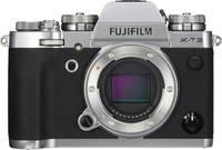 Fujifilm X-T3 Silber Body Digitális kamera 26.1 MPix Ezüst 4k videó, Fröccsenő víz ellen védett, Porvédett, Érintőkije Fujifilm