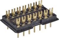 DIL dugó 1 db DILS 14 GO Fischer Elektronik Pólusszám: 14 Raszterméret: 2.5 mm (H x Sz x Ma) 20 x 12.5 x 7.6 mm (10031638) Fischer Elektronik