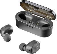 Cellularline BTSHADOWTWSK True Wireless In Ear sztereo headset In Ear Headset, Nagyfelbontású hang Fekete Cellularline