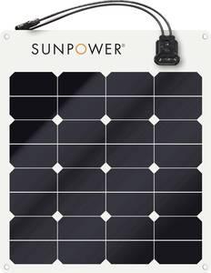 SunPower SPR-E-Flex 50 Monokristályos napelem modul 50 Wp 12 V SunPower