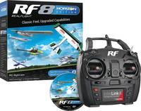 Real Flight RF8 Horizon Hobby Edition Modell repülő szimulátor Távirányítóval Real Flight