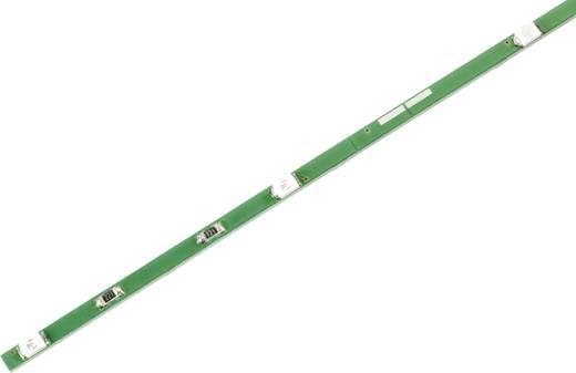 LED csík színes SMD LED-ekkel, merev, 8 LED-del, borostyán