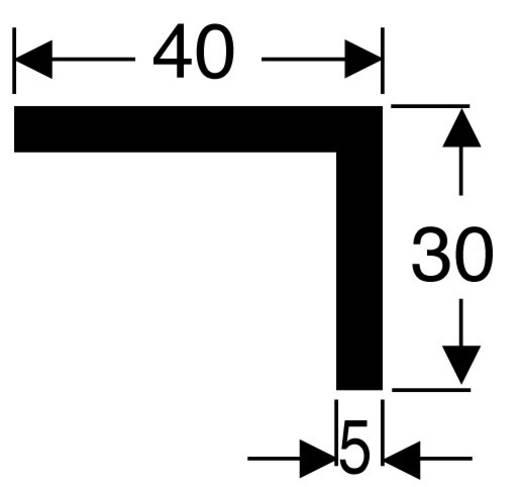 Hűtőborda derékszögű profillal