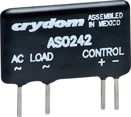 Elektronikus mini SIP nyák teljesítmény relé 2 A 12 - 280 V/AC, Crydom ASO242