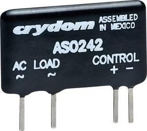 Elektronikus mini SIP teljesítmény relé 3 A 0 - 60 V/DC, Crydom DMO063 Crydom