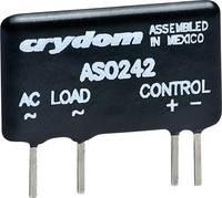 Szilárdtest relé, teljesítmény relé kapcsolási feszültség 12-280V/AC 2A Crydom AS0242 Crydom