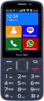 beafon SL810 Mobiltelefon időseknek Töltőállomással, SOS gomb Fekete, Fekete beafon