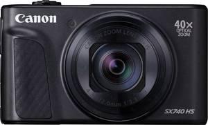 Canon PowerShot SX740 HS Digitális kamera 20.3 MPix Optikai zoom: 40 x Fekete 4k videó, Bluetooth, Forgatható- és dönth (2955C002) Canon