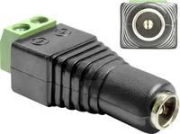 Delock DC (áram) Átalakító [1x DC alj, 5,5 mm - 1x 2 drótos vezeték] Fekete Delock