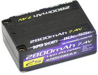 ArrowMax Akkucsomag, LiPo 7.4 V 2800 mAh Cellaszám: 2 55 C 4 mm (AM-700401) ArrowMax