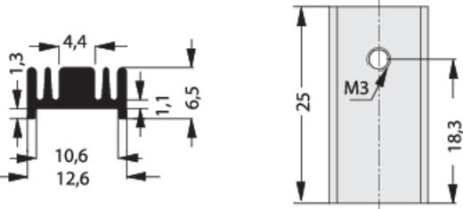 Hűtőborda 40 K/W 25 x 12,6 x 6,5 mm TO-220, Fischer Elektronik SK 95 25 TO 220