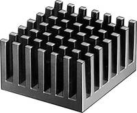 Hűtőborda 10,9 K/W 27,95 x 24,76 x 15,24 mm, Fischer Elektronik ICK PGA 11 X 11 (10037092) Fischer Elektronik