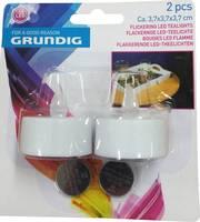 Grundig 06176 LED-es teamécses 2 részes készlet LED Melegfehér Fehér Grundig