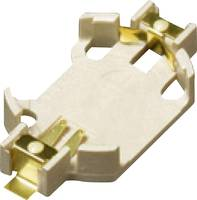 Gombelemtartó 1 CR 2032 Vízszintes, Felületi SMD szerelés (H x Sz x Ma) 32 x 16.1 x 5.4 mm Takachi SMTU20321G (SMTU20321G) Takachi