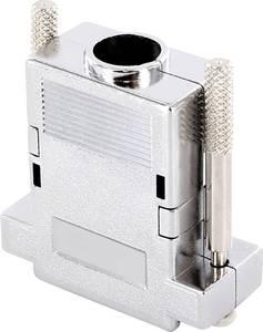 D-SUB ház Pólusszám: 15 ABS 180 ° Fémes econ connect 1 db econ connect