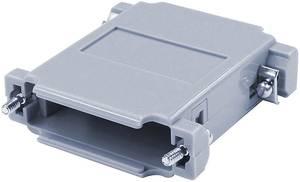 D-SUB adapterház Pólusszám: 25 ABS 180 ° Szürke econ connect 1 db econ connect