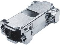 D-SUB adapterház Pólusszám: 9 Műanyag, fémes 180 ° Fémes econ connect 1 db econ connect