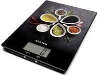 Salter 1171 SPDR Konyhai mérleg digitális Mérési tartomány (max.)=5 kg Fekete Salter