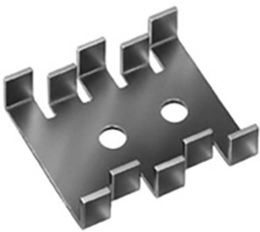 Hűtőborda 18 K/W 30 x 25,4 x 7,9 mm SOT-32 TO-220 TO-126, Fischer Elektronik FK 210 SA-CB