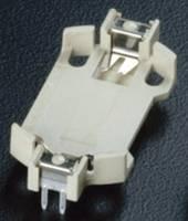 Gombelemtartó 1 CR 2032 Vízszintes, Átdugaszolós, THT (H x Sz x Ma) 28.5 x 16.1 x 5.2 mm Takachi HU2032 Takachi