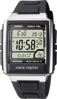 Casio Rádiójel vezérlésű Karóra WV-59E-1AVEG (H x Sz x Ma) 48.3 x 39 x 12.5 mm Ezüst Ház anyaga=Nemesacél, Műgyanta Anya Casio