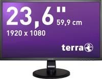 Terra LED 2447W LED monitor (felújított) 59.9 cm (23.6 coll) EEK A+ (A++ - E) 1920 x 1080 pixel Full HD 5 ms Audio-Line Terra