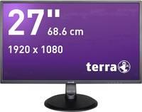 Terra LED 2747W LED monitor (felújított) 68.6 cm (27 coll) EEK A+ (A++ - E) 1920 x 1080 pixel Full HD 5 ms DVI, HDMI™, A Terra