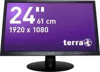 Terra LED 2412W LED monitor (felújított) 61 cm (24 coll) 1920 x 1080 pixel Full HD 5 ms DVI, VGA, Audio-Line bemenet TN Terra