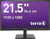 Terra LED 2226W LED monitor (felújított) 54.6 cm (21.5 coll) EEK A+ (A++ - E) 1920 x 1080 pixel Full HD 5 ms Audio-Line Terra