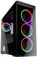 Midi torony Számítógép ház Kolink HORIZON Fekete, RGB (HORIZON) Kolink
