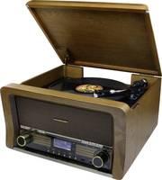 soundmaster NR50 USB-s lemezjátszó Ékszíjhajtás Tölgy (NR50) soundmaster