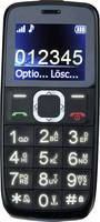 Switel M170Bravo Mobiltelefon időseknek SOS gomb, Töltőállomással Fekete Switel