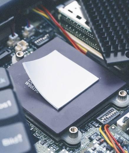 Kerafol hővezető fólia, 50x50x3 mm, 3 W/mK, Softtherm® - 86/300