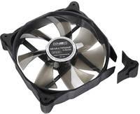 NoiseBlocker M12-2 Számítógépház ventilátor Fekete, Átlátszó (Sz x Ma x Mé) 120 x 120 x 25 mm NoiseBlocker