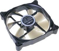 NoiseBlocker M12-PS Számítógépház ventilátor Fekete, Szürke (Sz x Ma x Mé) 120 x 120 x 25 mm NoiseBlocker