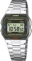 Casio Kronográf Karóra A163WA-1QES (H x Sz x Ma) 36.8 x 33 x 9.1 mm Ezüst Ház anyaga=Nemesacél Anyag (karpánt)=Nemesacél Casio