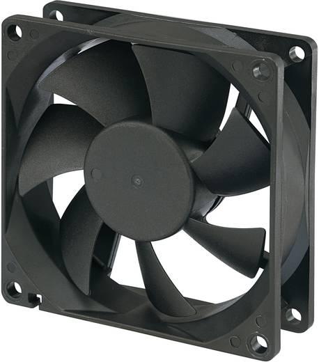 Vízálló ventilátor IP58 12V 0,13A, 80 x 80 x 25 mm