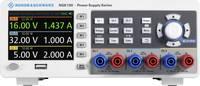 Rohde & Schwarz NGE103B Labortápegység, szabályozható 0 - 32 V/DC 0 - 3 A 100 W USB OVP, Távirányítható Kimenetek száma Rohde & Schwarz