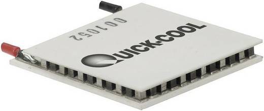 QuickCool HighTech Peltier elem, 40x40x3,8mm, 15,5V, QC-127-1.4-6.0MS